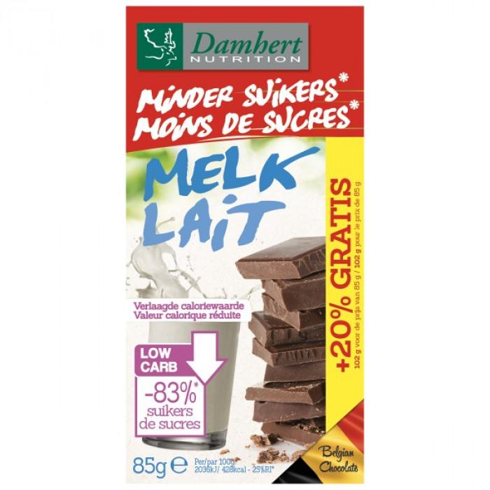 Milk chocolate Damhert, 85 g