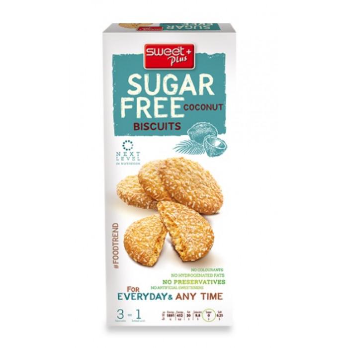 Coconut biscuits, sugar free, 100g