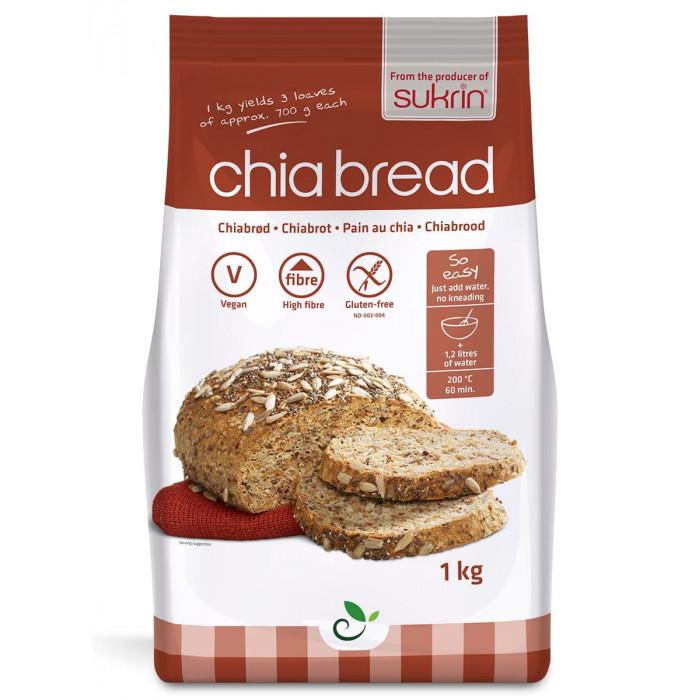Chia bread mix Sukrin, 1 kg
