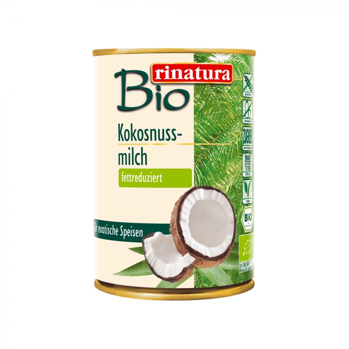 Kokosriekstu piens ar samazinātu tauku saturu ECO, 400 ml