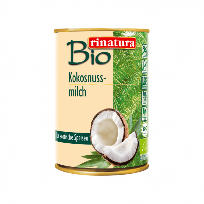 Coconut milk ECO, 400 ml