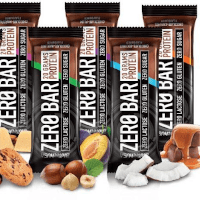 Protein bars, chocolate, drops