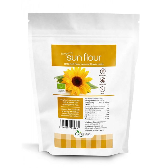 Sun Flour, saulėgrąžų miltai ECO, 400 g