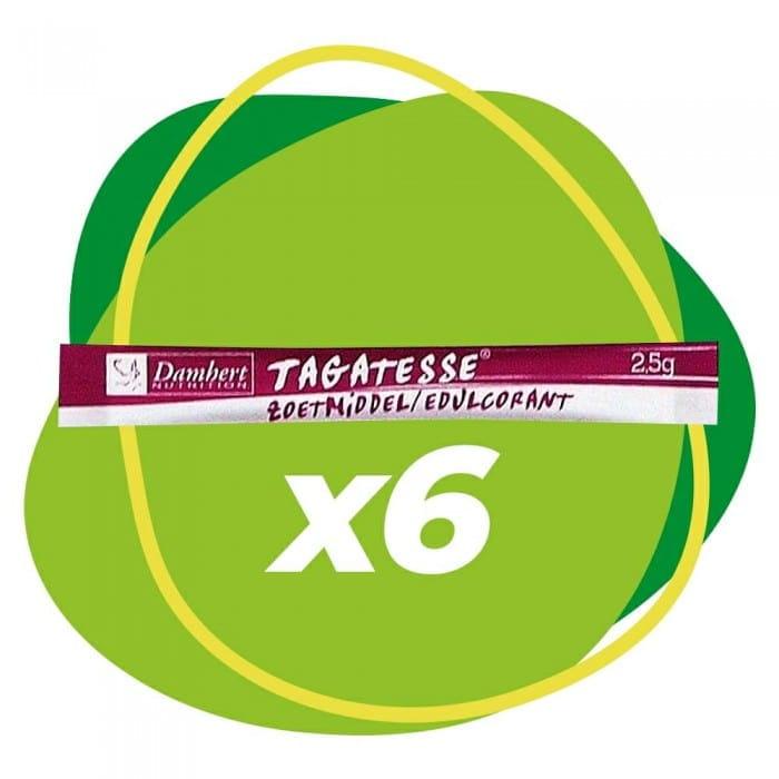 Damhert Tagatesse sweetener sticks, 6 x 2,5 g