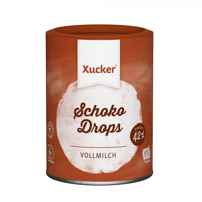 Xucker Drops «Milk Chocolate», 200 g Protein bars, chocolate, drops