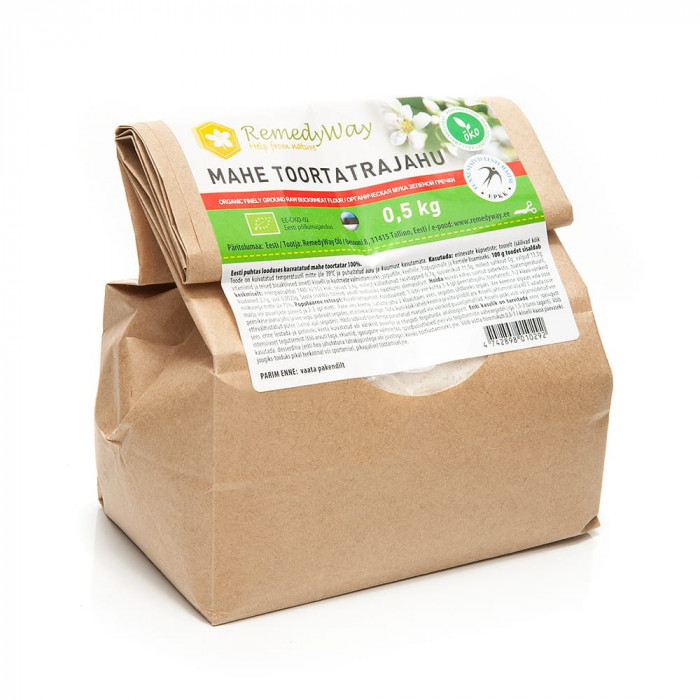 Green buckwheat flour ECO, 500 g
