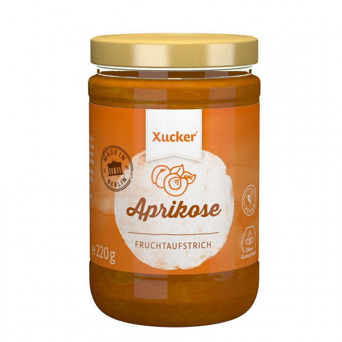 Apricot Jam with Xylitol, 220 g