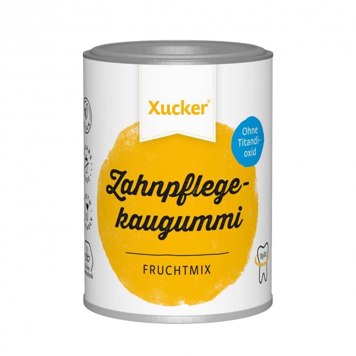 Fruit Chewing Gum, Xucker, 100 g