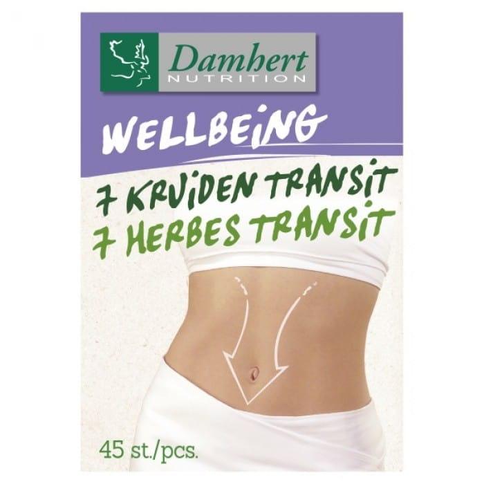 Damhert Wellbeing Tablets 7 herbs transit