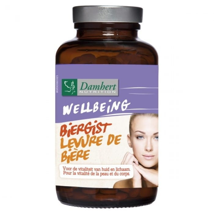 Damhert Wellbeing Tablets bewer's yeast, 185 g