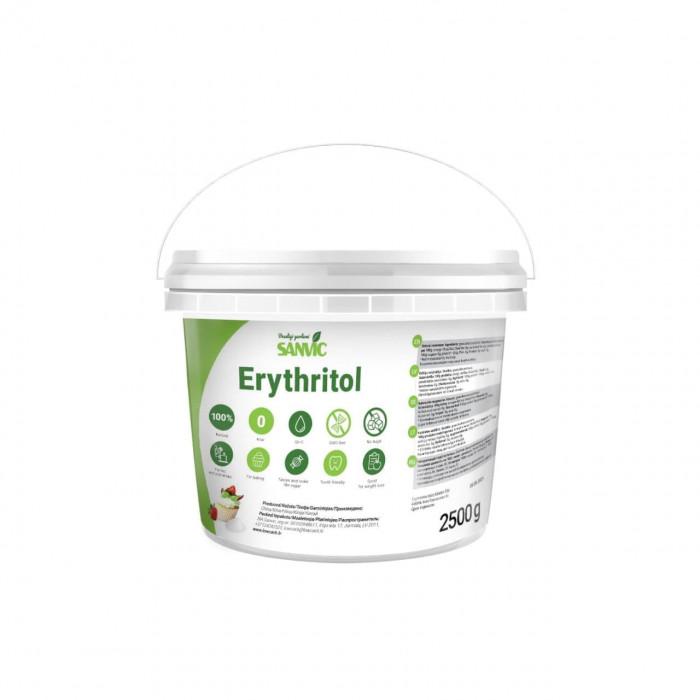 Erythritol, natural sweetener, 2.5 kg