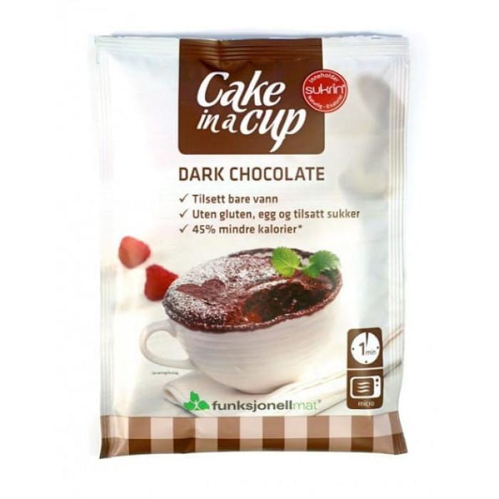 Dark Chocolate Cake in a cup Sukrin, 75 g