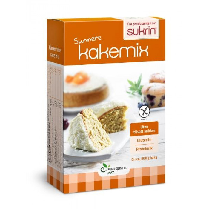 Cake mix Sukrin, 360 g