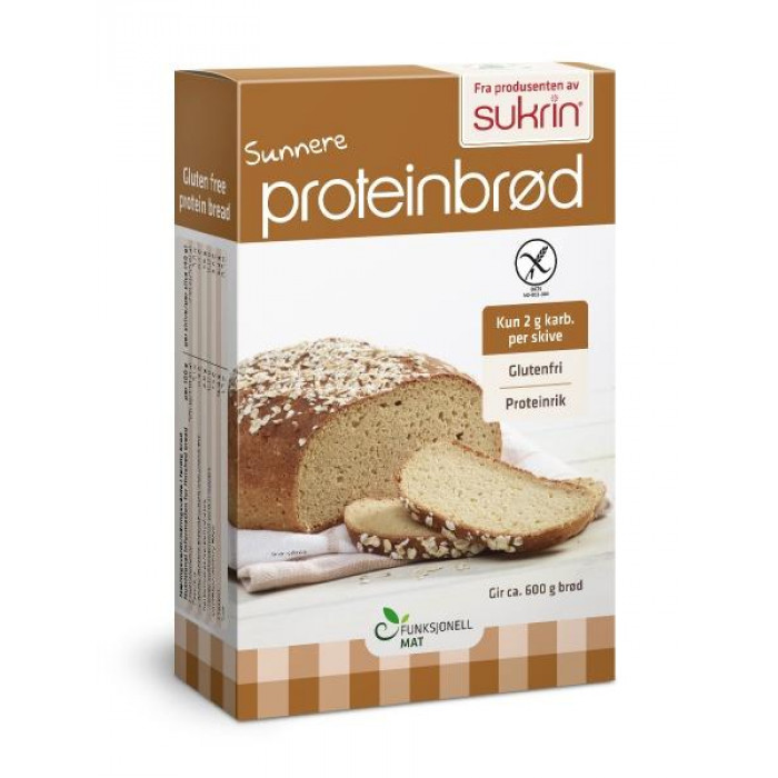 Protein bread mix Sukrin with almond and sesame flour, 220 g