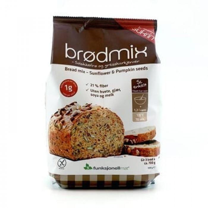 Fibre bread with sunflower seeds and pumpkin seeds Sukrin 1 kg
