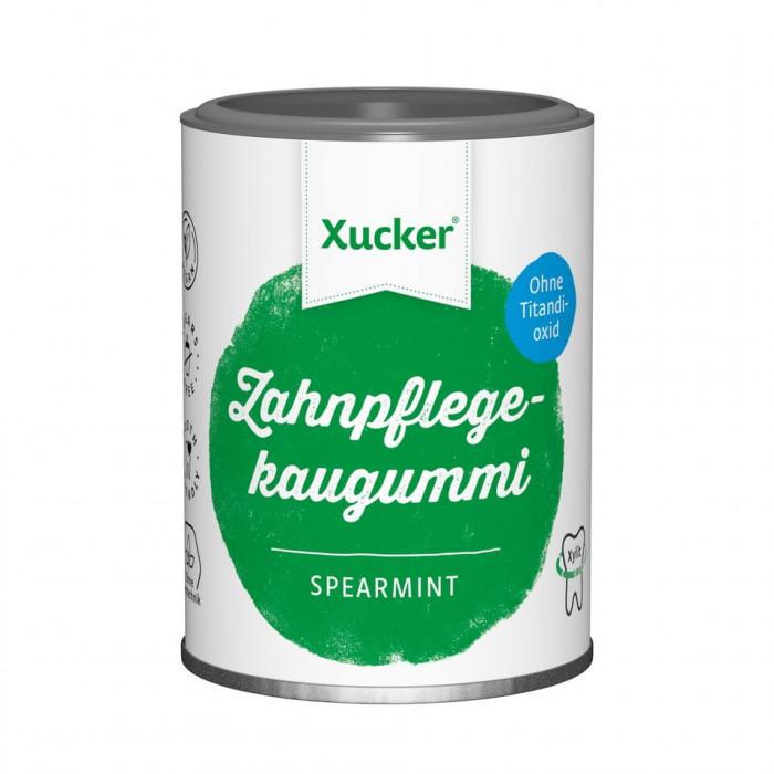 Piparmētru košļājamā gumija Xucker, 100 g