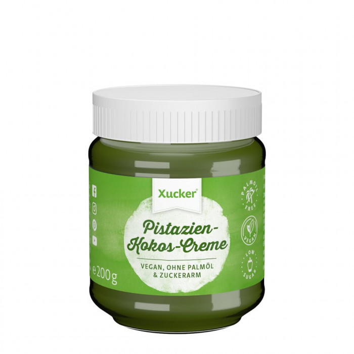 Sweet pistachio-coconut cream with xylitol, 200 g