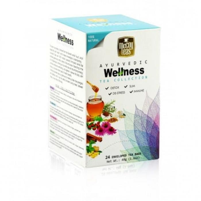 MCCOY TEAS Ayurvedic Wellness green tea collection 2g x 24 pcs